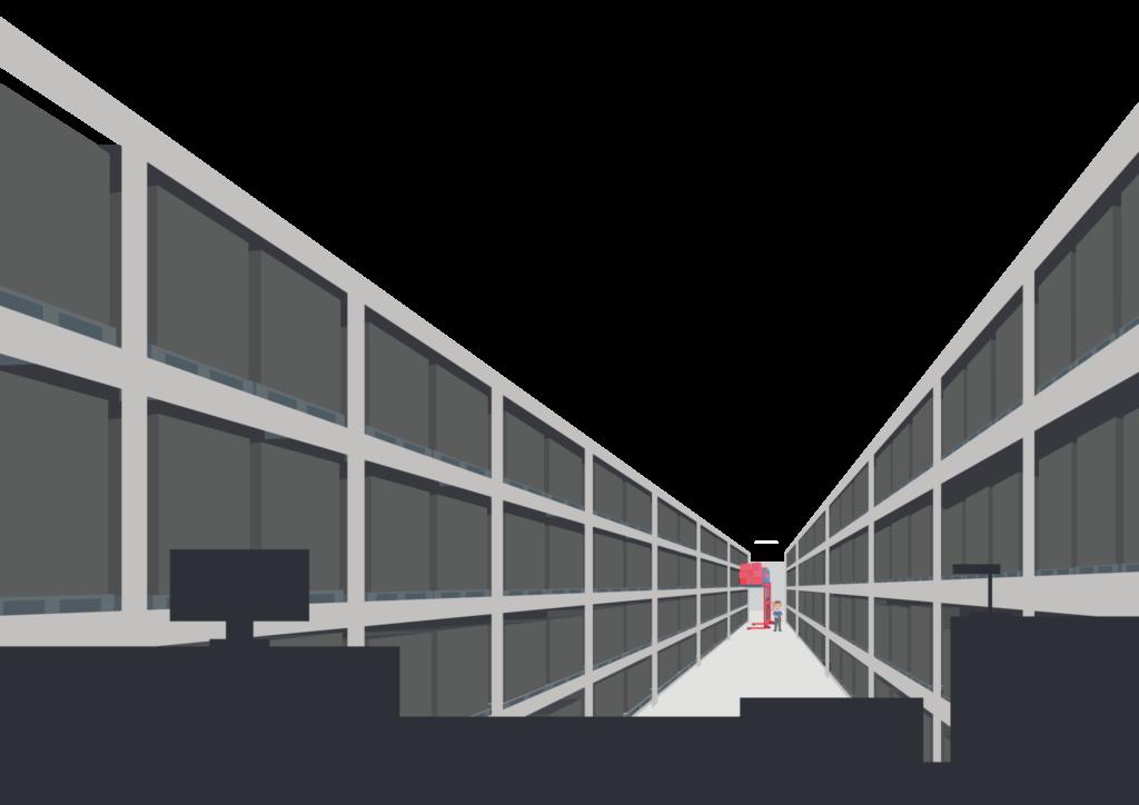 Was ist eine PNA • Anwendungsbeispiel • Personen-Notsignal-Anlagen Einsatz • PNA Einsatzgebiet • PNA im Lager • PNA für Industrie und Logistik